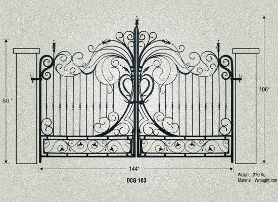 indian open driveway gate. Antique Gates Cast Iron Entrance Gate Manufacturer Gujarat India Garden