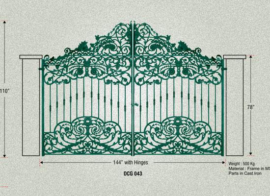 Designer Iron Gates